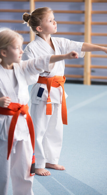 young-girls-training-karate-moves